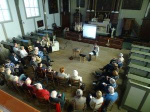 bijeenkomst voltooid leven in de kerk